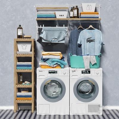 洗衣机3D模型下载【ID:17086252】