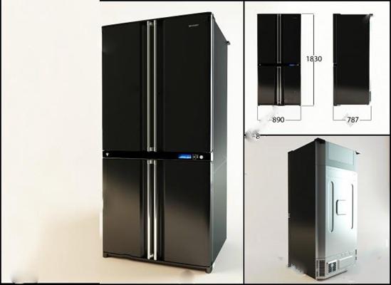 冰箱3D模型【ID:17088127】