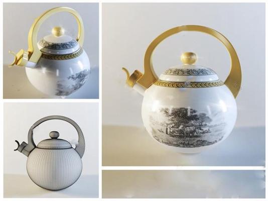 茶壶3D模型【ID:17089205】