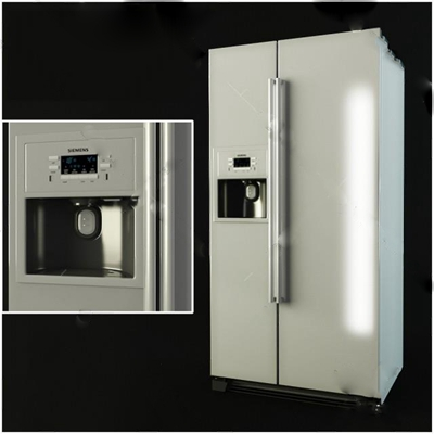 冰箱3D模型【ID:17089520】