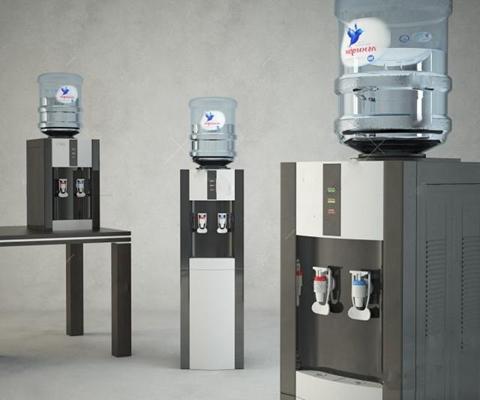 饮水机3D模型【ID:17090788】