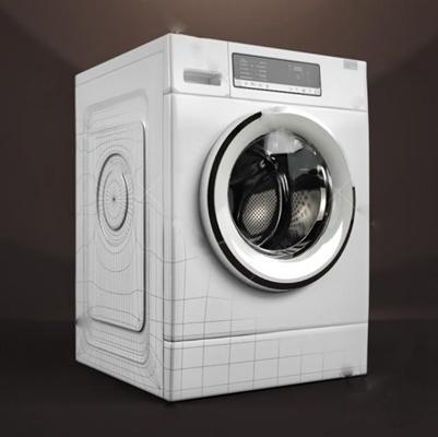 洗衣机3D模型【ID:17091850】