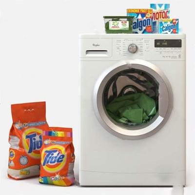 洗衣机3D模型【ID:17092157】