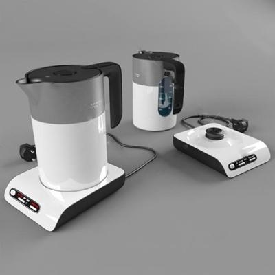 电热水壶3D模型【ID:17093080】