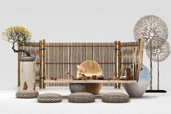 茶桌3D模型【ID:17165560】