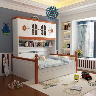 欧式卧室儿童房3D模型【ID:17174522】
