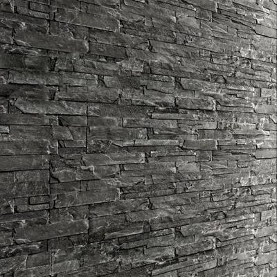 现代文化石背景墙3d模型【ID:17183816】