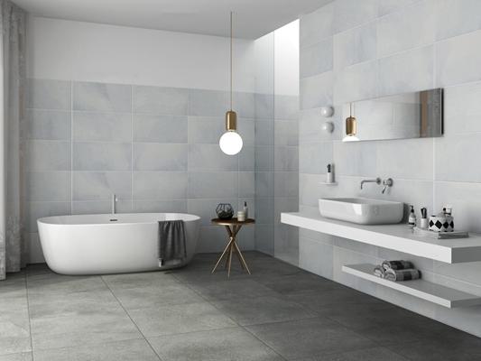 现代卫浴空间3D模型【ID:17184068】