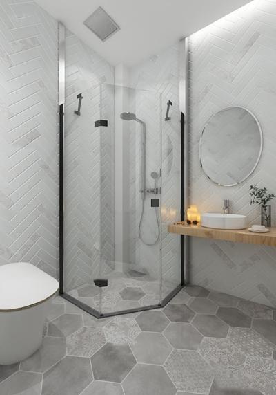 现代卫浴空间3D模型【ID:17201060】