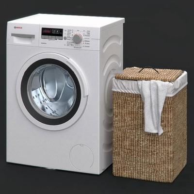 现代洗衣机3D模型【ID:17208158】