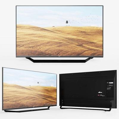 现代电视机3d模型【ID:17209632】