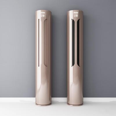 现代海尔柜式空调3D模型【ID:17225642】