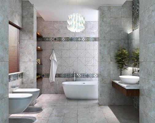 现代卫浴空间3D模型【ID:17246468】