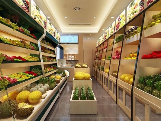 水果超市3D模型【ID:628044335】