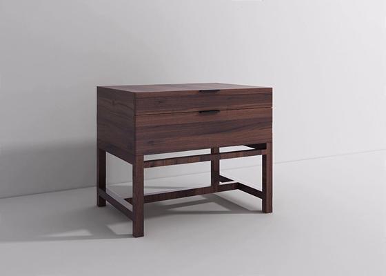 现代新中式床头柜XL3D模型【ID:928195663】