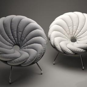 现代羽翼椅3D模型【ID:227885469】