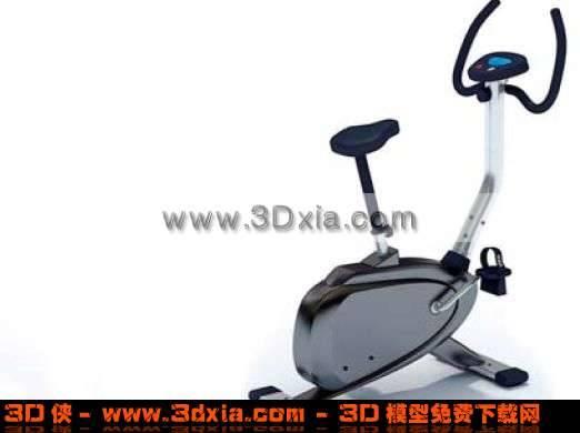 别致的3D健身自行车模型3D模型【ID:1833】