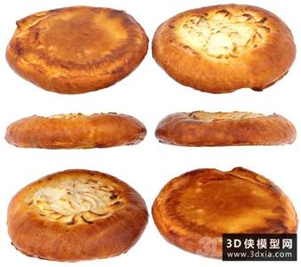 3D甜面包用酸奶干酪國外3D模型【ID:929328500】