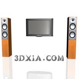 d电视sdown--34-3DS格式3D模型【ID:18782】