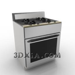 d烤炉sdown--66-3DS格式3D模型【ID:18919】