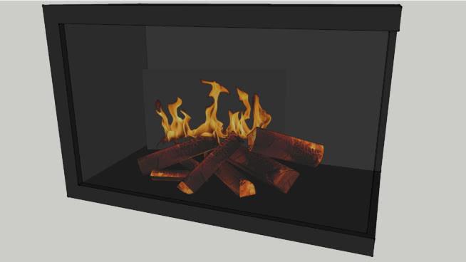 壁炉SU模型【ID:939487547】