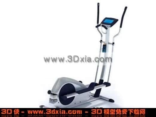 时尚先进的3D健身器材3D模型【ID:1907】
