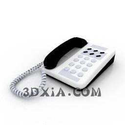 d电话sdown--4-3DS格式3D模型【ID:19202】