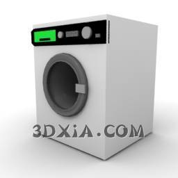 d干洗机sdown--6-3DS格式3D模型【ID:19216】
