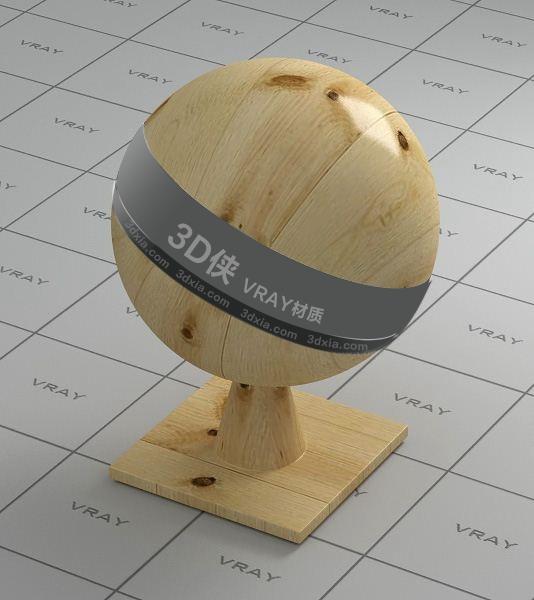 米色木板Vray材质【ID:736414373】