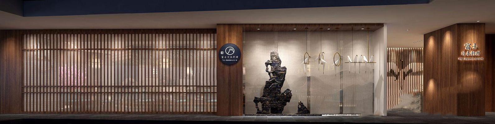 日本料理店3D模型【ID:528276535】
