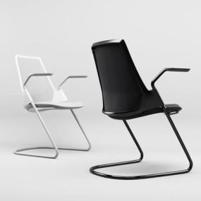现代办公椅3D模型【ID:227879949】