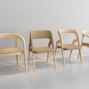 现代休闲椅子3D模型【ID:227879462】