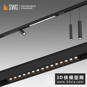 射灯国外3D模型【ID:929324134】
