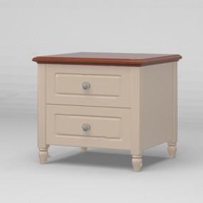 美式床头柜CZSY3D模型【ID:928195687】