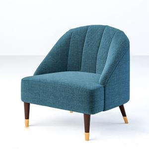 北欧单人沙发3D模型【ID:920818656】