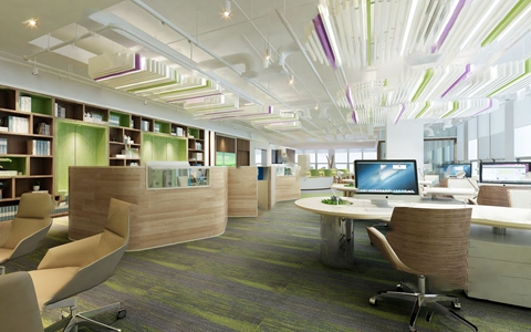 现代办公室3D模型【ID:220805417】