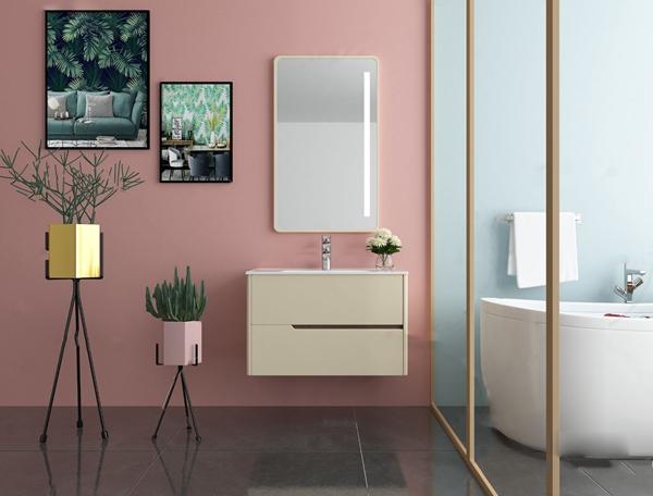 現代洗手臺浴室柜3D模型【ID:147856848】