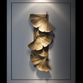 现代艺术壁挂装饰品3D模型【ID:227878013】