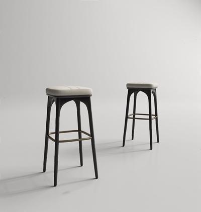 現代吧椅3D模型【ID:327931109】