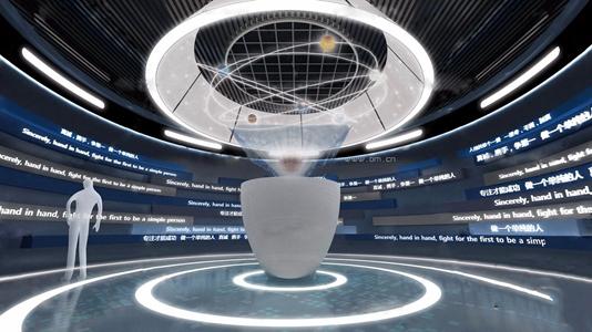 现代科技展厅3D模型【ID:331400001】