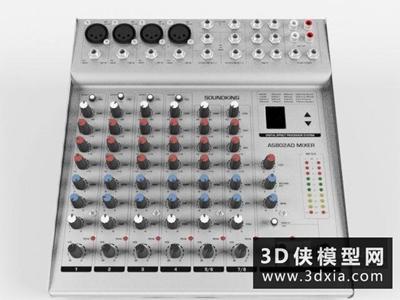 音控台国外3D模型【ID:229429045】