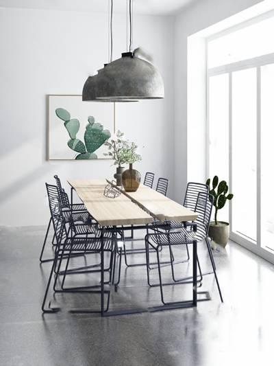 工业餐桌椅组合3D模型下载【ID:319453447】