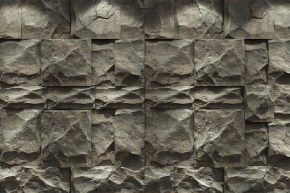 現代石頭背景墻3D模型【ID:127753196】