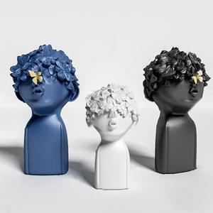 北欧人物摆件3D模型【ID:920797132】