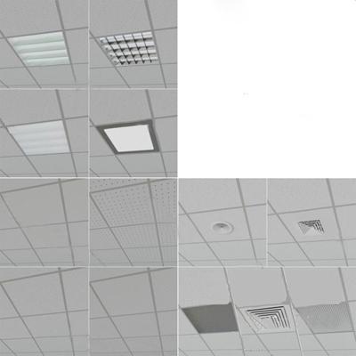 现代天花吊顶3D模型