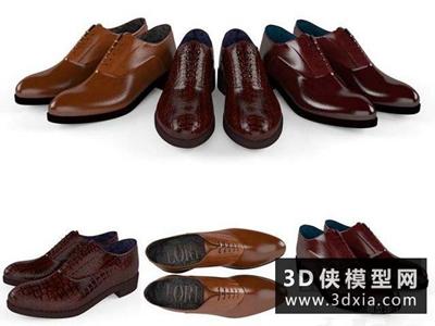 皮鞋國外3D模型【ID:929718673】