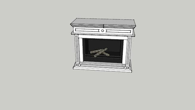 壁炉SU模型【ID:939517573】