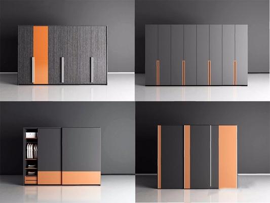 现代衣柜3D模型【ID:928202983】