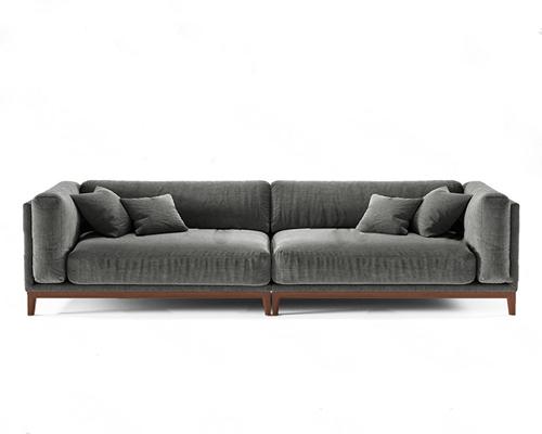 双人沙发3D模型【ID:920022703】