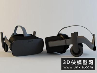 VR眼镜国外3D模型【ID:129437773】
